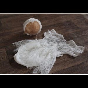 Other - Handmade Lace romper